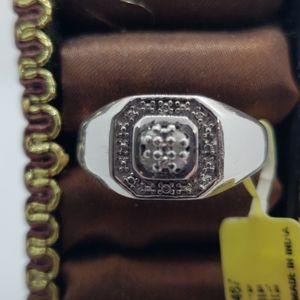 MENS Diamond Ring [Size 11]